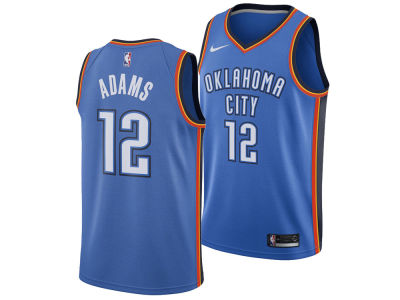 Oklahoma City Thunder Steven Adams Nike NBA Men's Icon Swingman Jersey