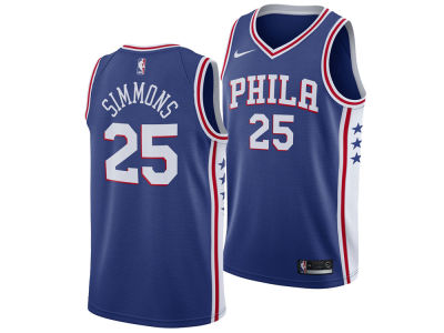 Philadelphia 76ers Ben Simmons Nike NBA Men's Icon Swingman Jersey