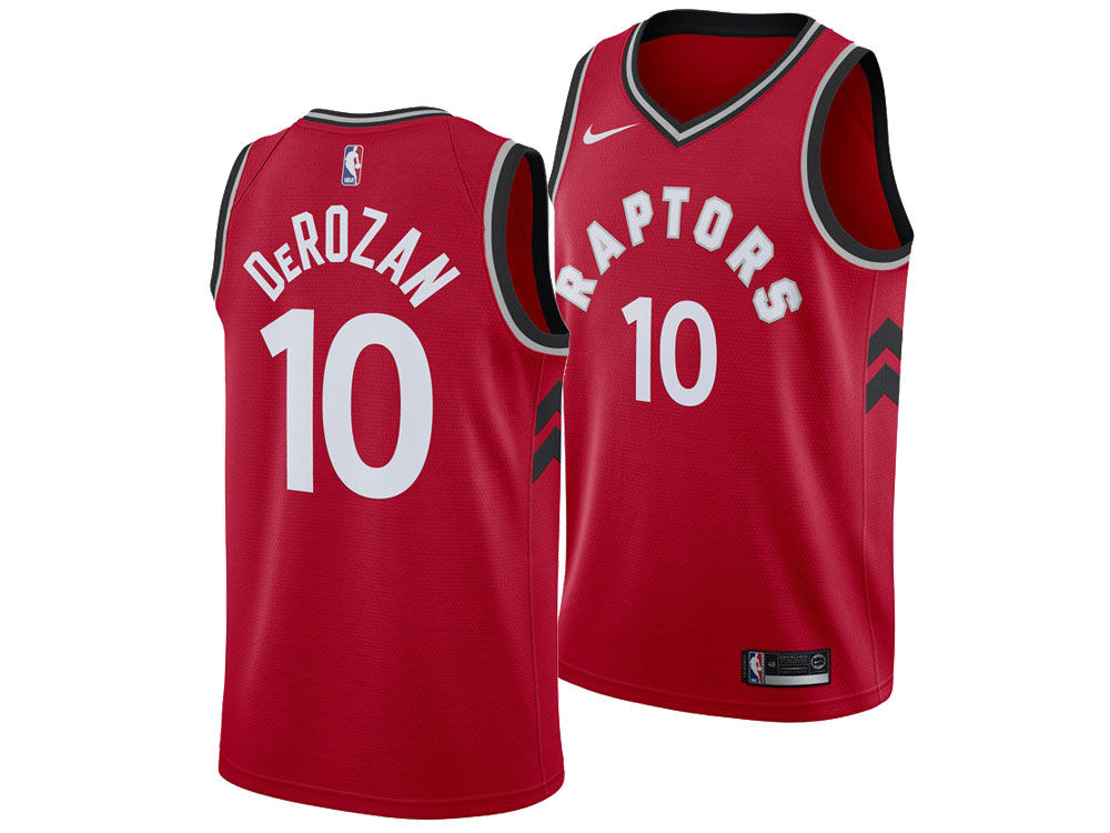 Toronto Raptors DeMar DeRozan Nike NBA Men s Icon Swingman Jersey ... e78954562