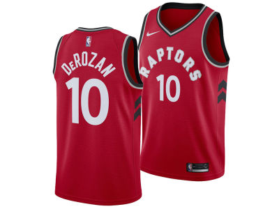 Toronto Raptors DeMar DeRozan Nike NBA Men's Icon Swingman Jersey