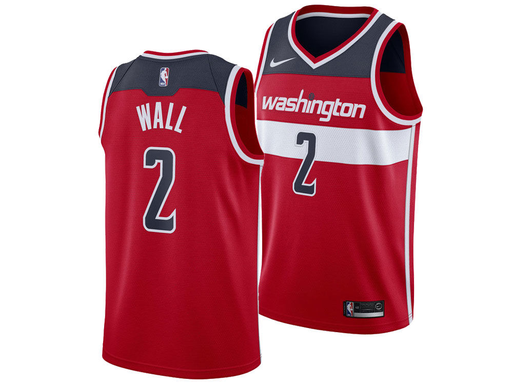 a788487ef0eb ... purchase washington wizards john wall nike nba mens icon swingman jersey  1262b 27a3c