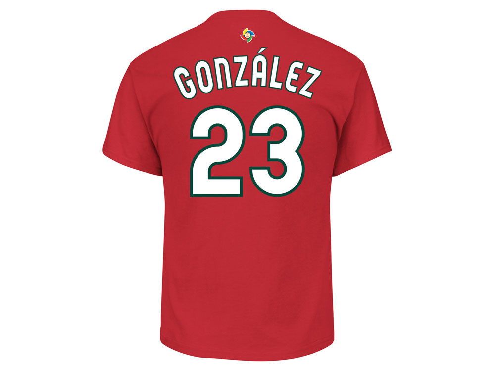 Mexico adrian gonzalez majestic mlb mens world baseball classic mexico adrian gonzalez majestic mlb mens world baseball classic player t shirt sciox Image collections