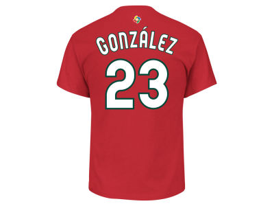 Mexico Adrian Gonzalez MLB Men's World Baseball Classic Player T-Shirt