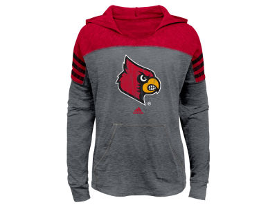 Louisville Cardinals adidas NCAA Girls Gametime Slouchy Hoodie