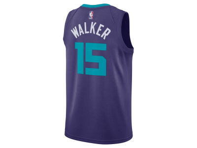 Charlotte Hornets Kemba Walker Jordan NBA Men's Statement Swingman Jersey