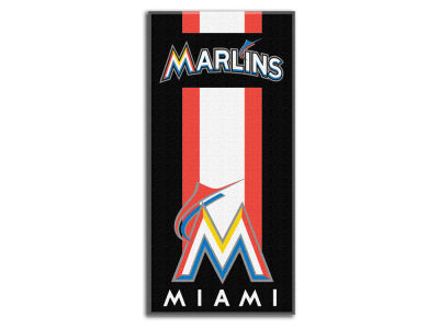 "Miami Marlins MLB 30x60 Beach Towel ""Zone Read"""