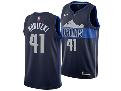 Dallas Mavericks Dirk Nowitzki Nike NBA Men's Statement Swingman Jersey