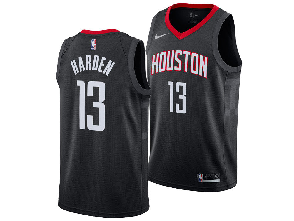 41eaa28a57e Houston Rockets James Harden Nike NBA Men s Statement Swingman Jersey