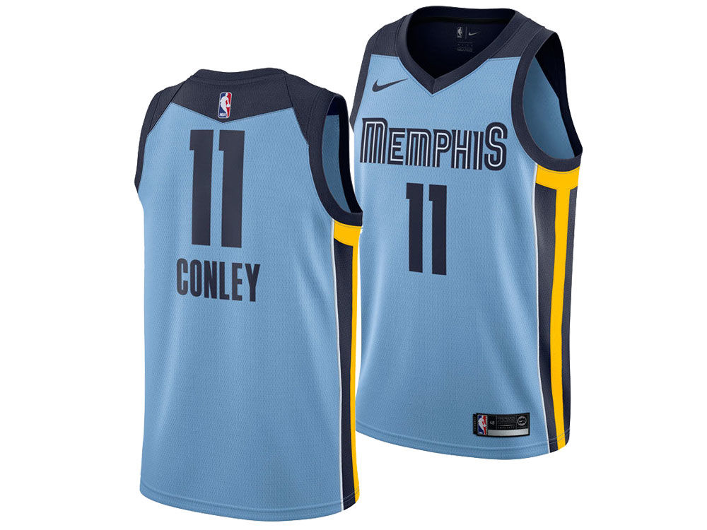 66f8158ff Memphis Grizzlies Mike Conley Jr. Nike NBA Men s Statement Swingman Jersey. Memphis  Grizzlies ...