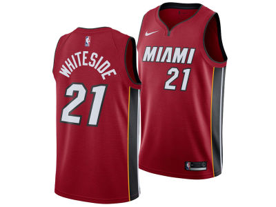 Miami Heat Hassan Whiteside Nike NBA Men's Statement Swingman Jersey