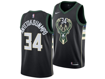 Milwaukee Bucks Giannis Antetokounmpo Nike NBA Men's Statement Swingman Jersey