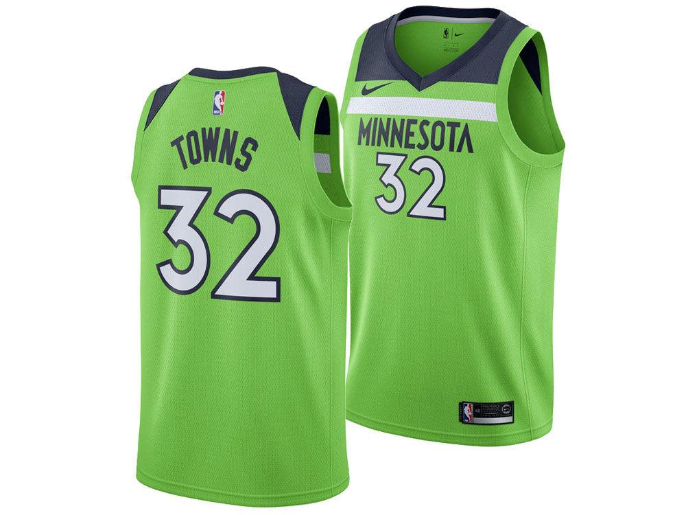 Minnesota Timberwolves Karl-Anthony Towns Nike NBA Men's Statement Swingman  Jersey