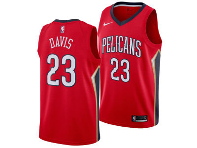 New Orleans Pelicans Anthony Davis Nike NBA Men's Statement Swingman Jersey