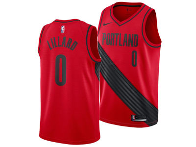 Portland Trail Blazers Damian Lillard Nike NBA Men's Statement Swingman Jersey
