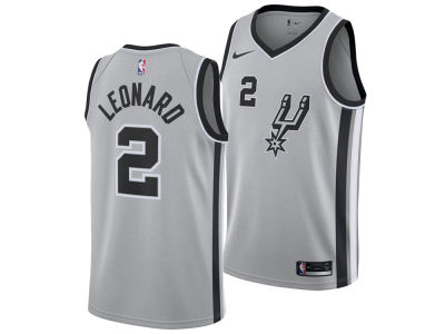 San Antonio Spurs Kawhi Leonard Nike NBA Men's Statement Swingman Jersey