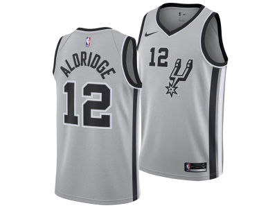 San Antonio Spurs Lamarcus Aldridge Nike NBA Men s Statement Swingman Jersey f4bf8a9dc