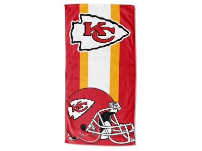 "Kansas City Chiefs NFL 30x60 inch Beach Towel ""Zone Read"""
