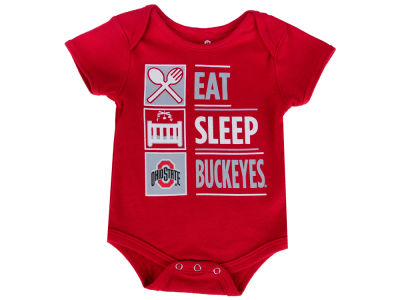 Ohio State Buckeyes NCAA Newborn All I Do Creeper