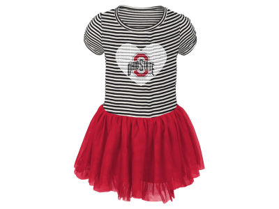 Ohio State Buckeyes NCAA Infant Tutu Sequins Dress