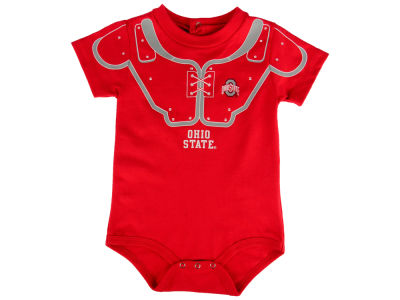 Ohio State Buckeyes Outerstuff NCAA Infant Lil Blocker Football Creeper