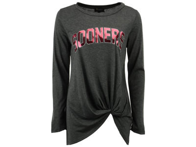Oklahoma Sooners Gameday Couture NCAA Women's Twist Long Sleeve T-Shirt