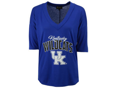 Kentucky Wildcats Gameday Couture NCAA Women's Weekender Deep V T-Shirt