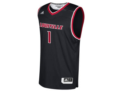 Louisville Cardinals adidas NCAA Men's Basketball Replica Jersey