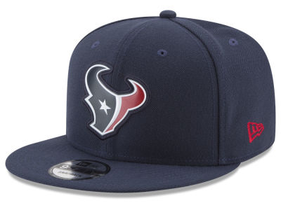 Houston Texans New Era NFL Bold Bevel 9FIFTY Snapback Cap
