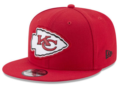 Kansas City Chiefs New Era NFL Bold Bevel 9FIFTY Snapback Cap
