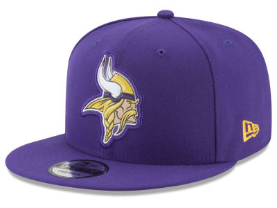 Minnesota Vikings New Era NFL Bold Bevel 9FIFTY Snapback Cap