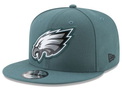 Philadelphia Eagles New Era NFL Bold Bevel 9FIFTY Snapback Cap