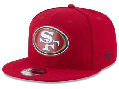 San Francisco 49ers New Era NFL Bold Bevel 9FIFTY Snapback Cap
