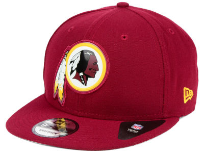 Washington Redskins New Era NFL Bold Bevel 9FIFTY Snapback Cap