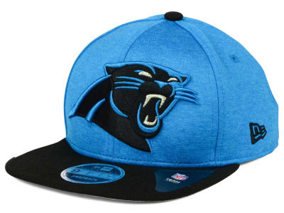 Carolina Panthers New Era NFL Heather Huge 9FIFTY Snapback Cap
