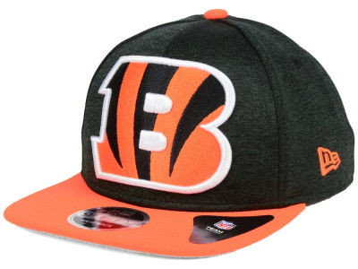 Cincinnati Bengals New Era NFL Heather Huge 9FIFTY Snapback Cap