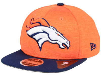 Denver Broncos New Era NFL Heather Huge 9FIFTY Snapback Cap