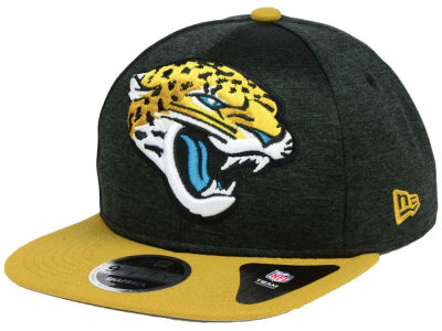 Jacksonville Jaguars New Era NFL Heather Huge 9FIFTY Snapback Cap