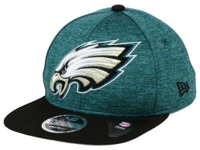 Philadelphia Eagles New Era NFL Heather Huge 9FIFTY Snapback Cap