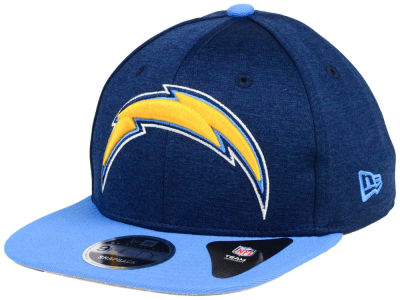 Los Angeles Chargers New Era NFL Heather Huge 9FIFTY Snapback Cap