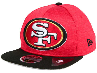 San Francisco 49ers New Era NFL Heather Huge 9FIFTY Snapback Cap