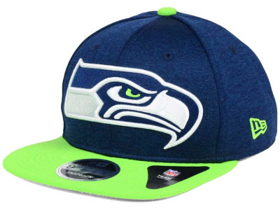 Seattle Seahawks New Era NFL Heather Huge 9FIFTY Snapback Cap