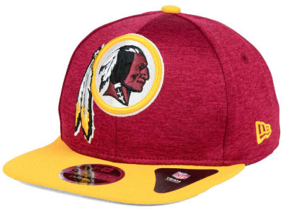 Washington Redskins New Era NFL Heather Huge 9FIFTY Snapback Cap