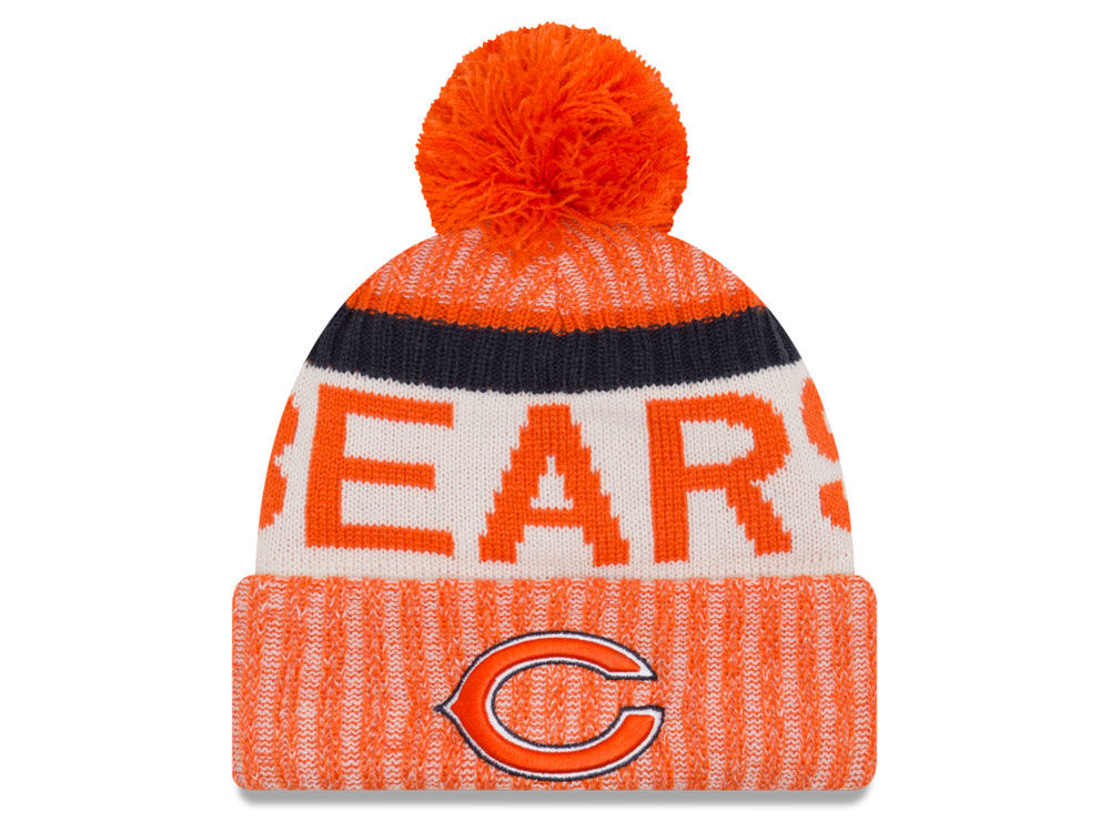 Chicago Bears New Era 2017 NFL Sport Reverse Knit  c4ee8acc0
