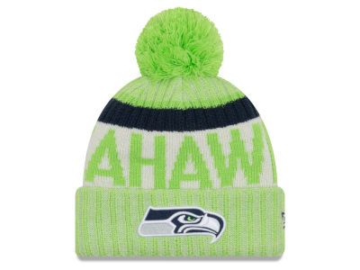 Seattle Seahawks New Era 2017 NFL Sport Reverse Knit