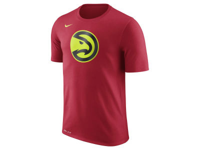 Atlanta Hawks Nike NBA Men's Dri-Fit Cotton Logo T-Shirt