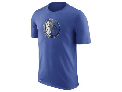 Dallas Mavericks Nike NBA Men's Dri-Fit Cotton Logo T-Shirt