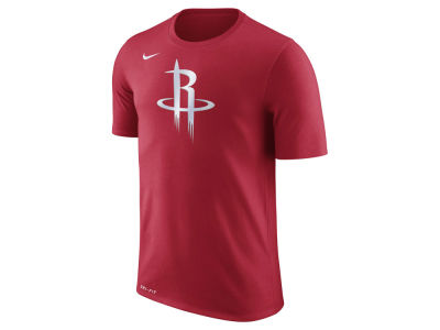 Houston Rockets Nike NBA Men's Dri-Fit Cotton Logo T-Shirt
