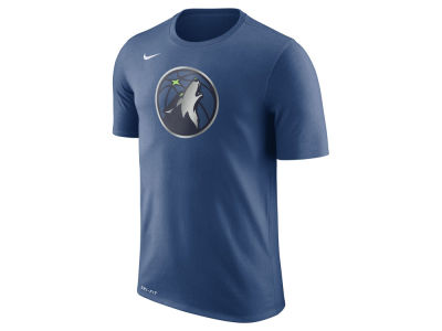 Minnesota Timberwolves Nike NBA Men's Dri-Fit Cotton Logo T-Shirt