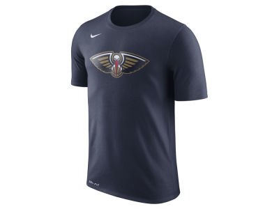 New Orleans Pelicans Nike NBA Men's Dri-Fit Cotton Logo T-Shirt