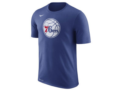 Philadelphia 76ers Nike NBA Men's Dri-Fit Cotton Logo T-Shirt